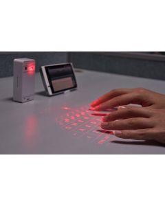 Trådlöst bluetooth laser-tangentbord för iOS, Android, Windows & Mac