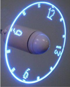 USB-fläkt med LED-ljus som kan visa bilder