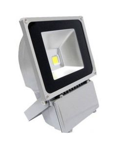 Ultratunn LED-strålkastare 70W kallvitt/varmvitt