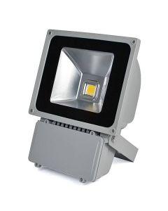 Ultratunn LED-strålkastare 100W kallvitt/varmvitt