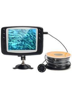 Undervattenskamera, 30 meter lina, 8 IR-leds och 3,5 tums skärm