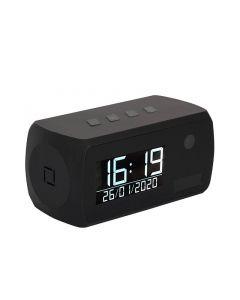 Dold IP Kamera i Bordsklocka SpyCam PRO Clock, Lång Standby, Mörkerseende, Rörelsedetektion