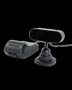 Bilkamera med Föraranalys, Asgari Dashcam PRO DMS, Dubbla kameror, Live-video, GPS, 4G, rörelselarm, stötlarm, livespårning