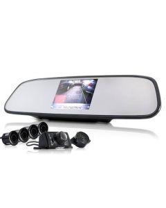 Backkamera kit med 4x backsensorer och 3.5