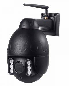 4G Utomhuskamera PTZ Dome, 50m mörkerseende, 5x Optisk Zoom, Tvåvägskommunikation