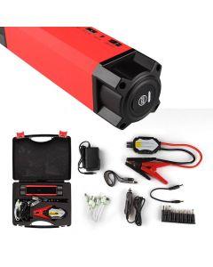 Uppladdningsbar batteristartare för bil, 54000mAh, powerbank-funktion, inbyggd LED-ficklampa