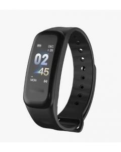 Aktivitetsarmband, C1 Plus, Färgskärm, Blodtryck, Stegräknare, Android, iOS, Bluetooth
