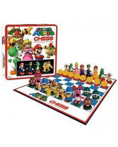 Super Mario Collectors Edition Chess, med spelpjäser från Mario-spelen