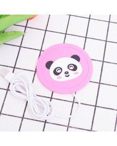 USB koppvärmare med sött Panda-motiv