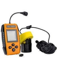 Portabel fiskfinnare, 200KHz, Sonar sensor echo