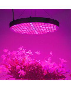 50W LED-växtlampa, rund panel, optimerad våglängd, 2950 lm, komplett kit