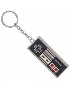 Nintendo NES-kontroller nyckelring, metall
