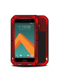Vattentåligt skal till HTC M10/HTC 10, Aluminium, Röd