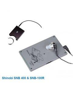 Shinobi SNB400 - Marknadens diskretaste professionella avlyssningssystem, 3 kanaler