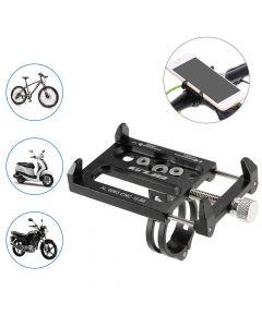 Mobilhållare för motorcykel / cykel i anodiserat aluminium, 3.5
