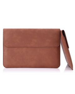 "Moko Surface Laptop / Surface Book 13.5"" Leather Sleeve bag - Brun"