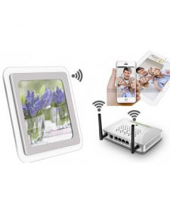 Diskret WIFI Spion-Bordsklocka / dold IP Kamera, P2P, WIFI - Fyndvara Klass 1