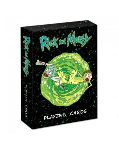 Rick and Morty spelkort