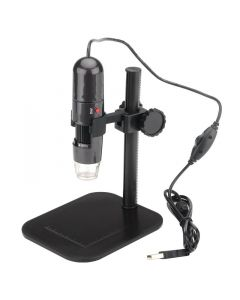 USB-mikroskop med 1000x zoom, justerbar fokus, LED-belysning, 1280x1024, 30 fps