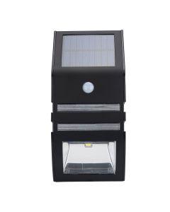 Solcells-lykta med PIR-rörelsesensor