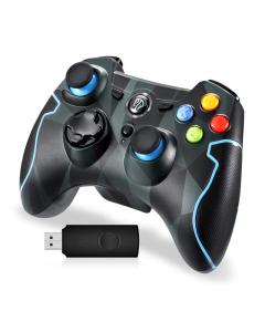 Trådlös Handkontroll EASYSMX, Gamepad för Android Smartphone, Smart TV, PC, PS3