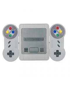 Super Mini SNES, Super Nintendo med Två Handkontroller, 600 Spel