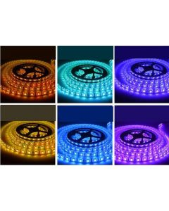 LED-List 5m, 14.4w/m, 60 LED/m - RGB