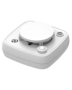 Nookbox Smoke Mini Detector, rökdetektor med PIR-rörelse/värmedetektor och termometer, ZigBee