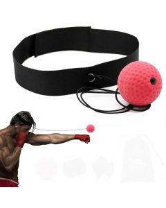 Boxning speedball, huvudmonterad reaktionstränare
