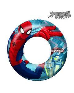 Uppblåsbar badring med Spiderman-motiv