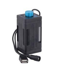 Portabelt Batteripack och Laddningsstation för Mobil och Cykelljus TrustFire EB03