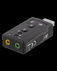 7.1 Surround USB 2.0 USB Ljudkort