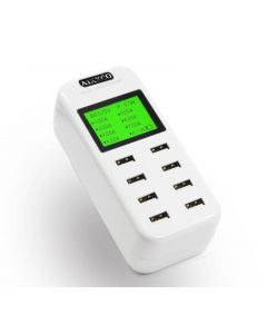 Smart USB-laddare med 8 st snabbladdnings-portar