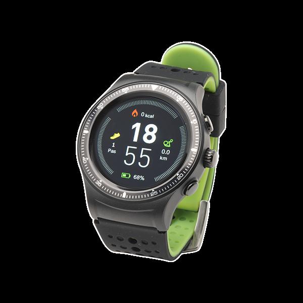 Denver SW-500, sportig smartklocka, GPS, stegräknare, pulsmätare, BT 4.0