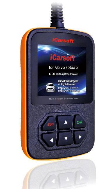 iCarSoft i 906, Multisystemskanner för Volvo iCarsoft Multi-system Scan