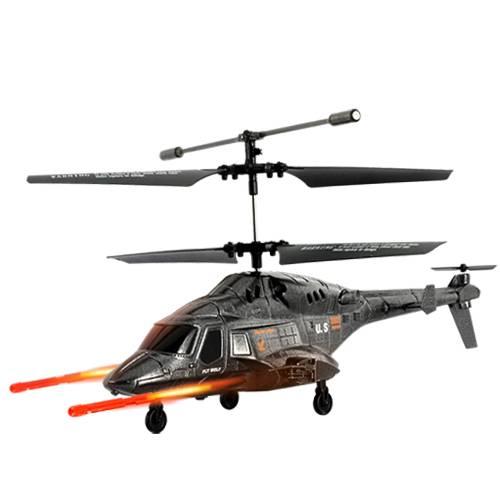 iPhonestyrd helikopter med missiler och bluetooth thumbnail