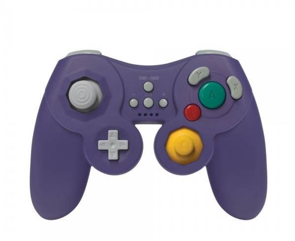 Wii U ProCube Trådlös Handkontroll (Lila)