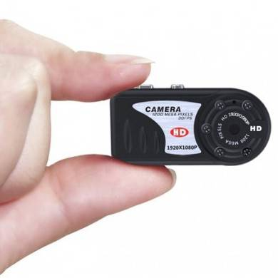 Minikamera Full HD, 1080p + Night vision
