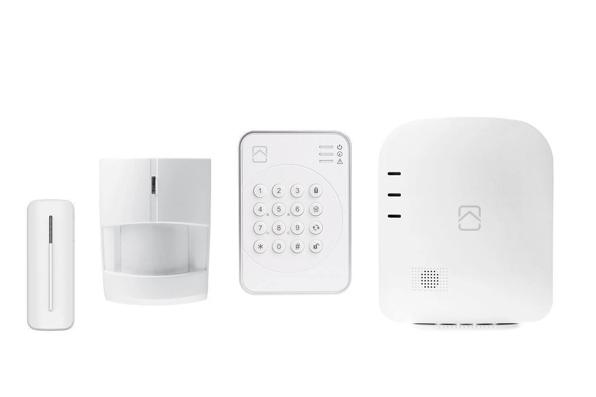 Nookbox G2 Starter Kit, smart inbrottslarm, hemautomation via Z-Wave, ZigBee