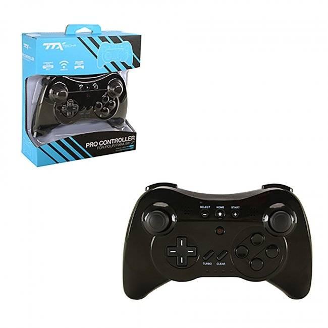Wii U Pro Controller, TTX Tech - Svart