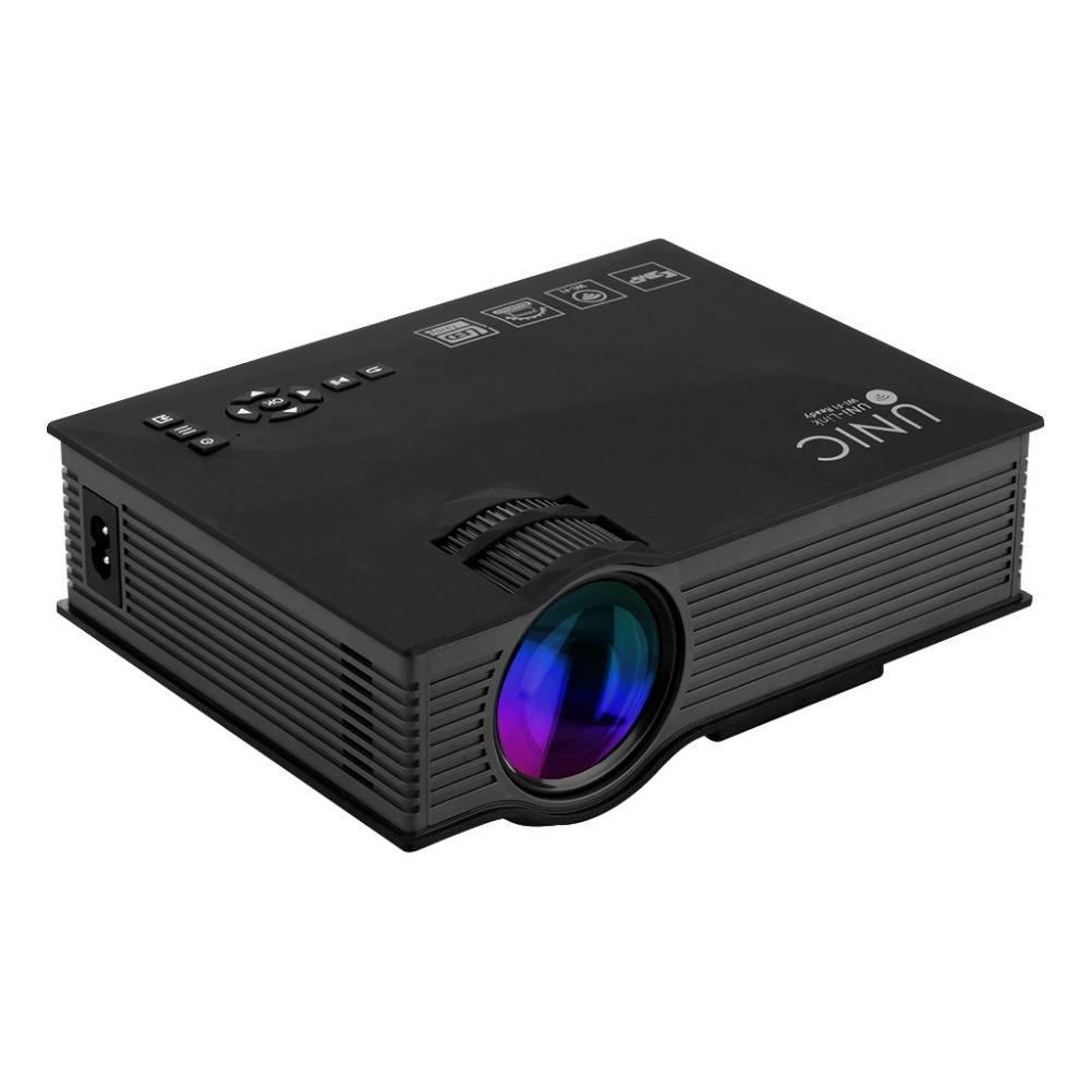 """Trådlös Projektor, LED, 1200 lm, DLNA/Miracast, 130"""" yta, mediaspelare (H.264, Xvid, DivX)"""