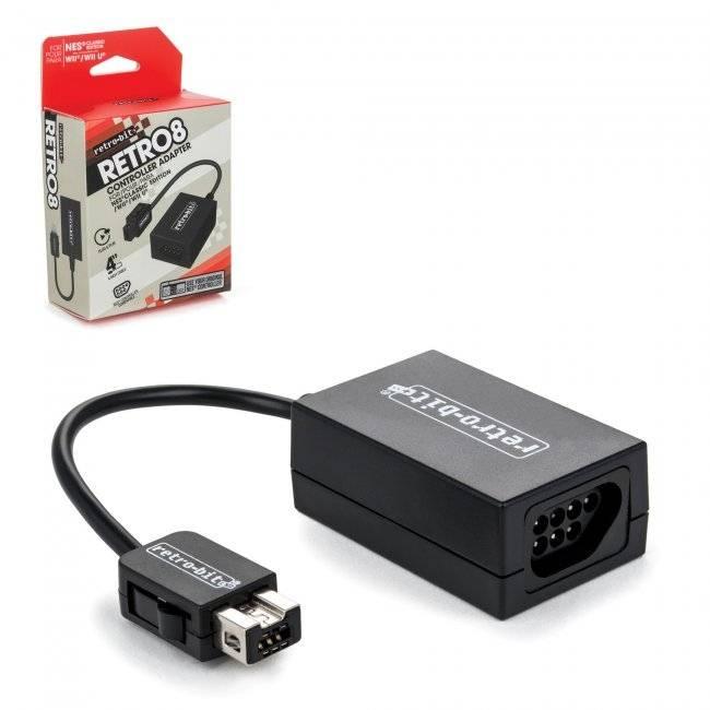 Original NES kontroller-adapter för Wii/Wii U