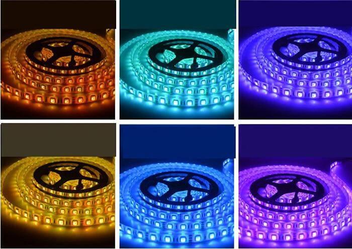 LED-List 5m, 14.4w/m, 60 LED/m - RGB thumbnail