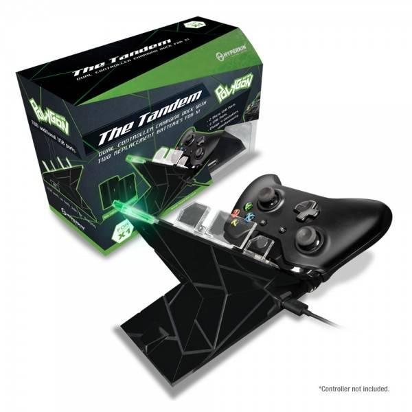 The Tandem, laddningsstation för Xbox One kontrollers, laddar upp till 4 st samtidigt