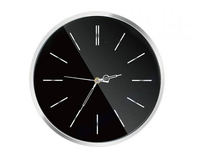 Spyclock PRO Time Wifi, FullHD Spionväggklocka med Rörelsedetektion, Push-larm, P2P, H.264
