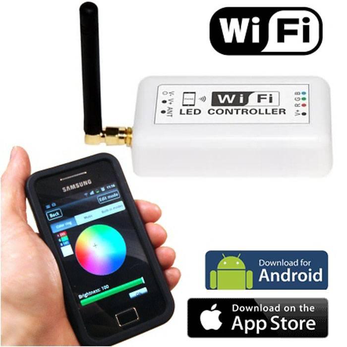 WIFI Modem för fjärrstyrning av RGB LED-lister thumbnail