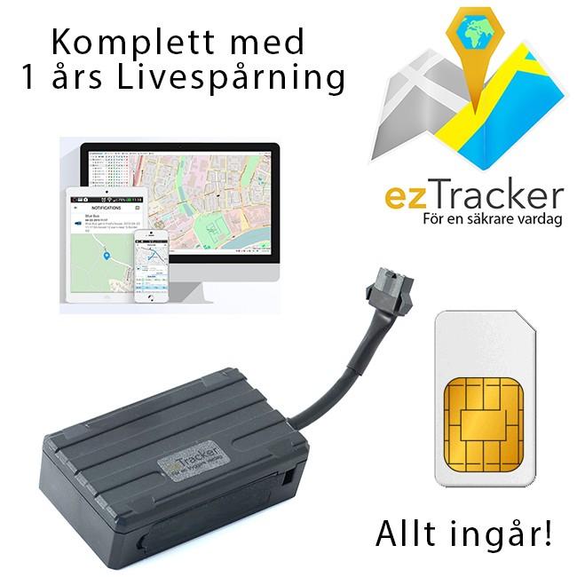 GPS Tracker bil